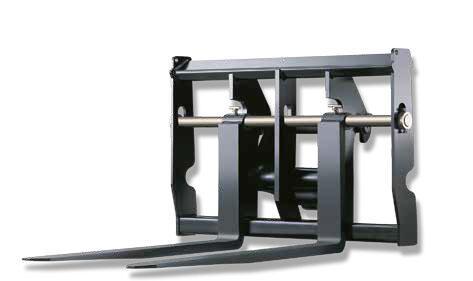 Вилы с плавающей конструкцией для телескопических погрузчиков ...